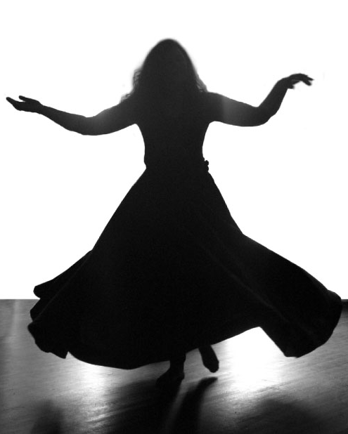 osho whirling